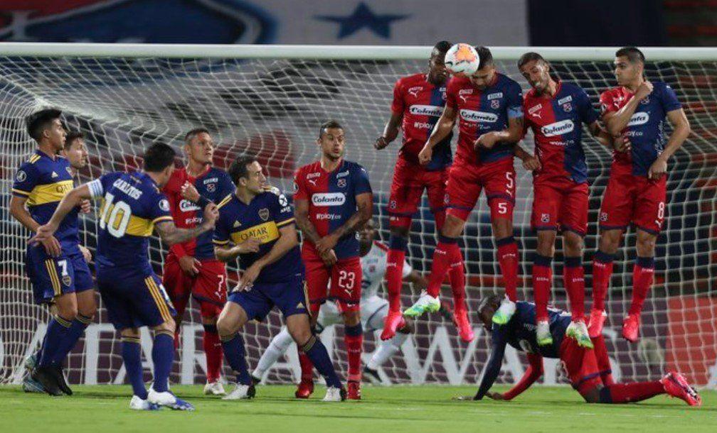 Copa Libertadores | Con un gol de Salvio sobre el final, Boca venció a Independiente de Medellín