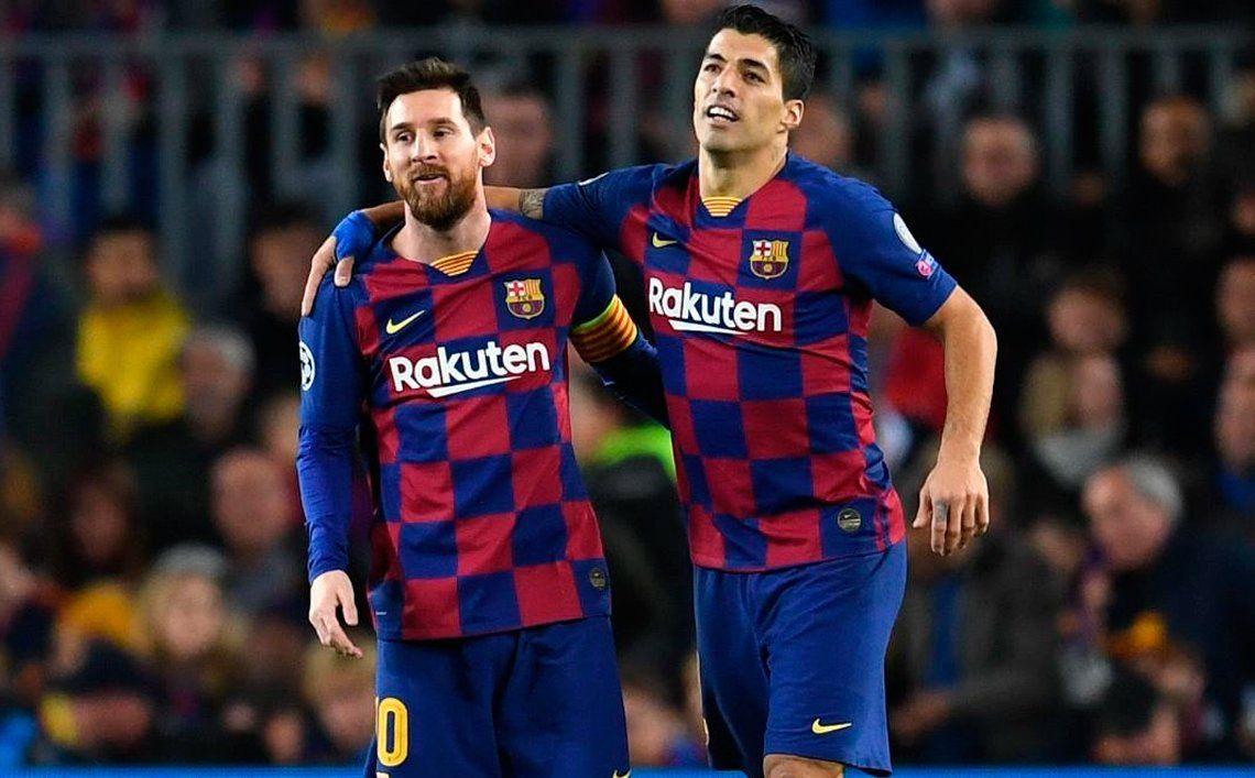 Messi le dedicó una tierna despedida a Suárez con un duro mensaje al Barcelona