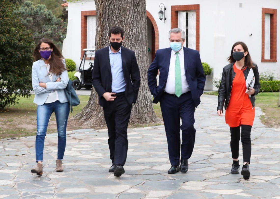 Alberto Fernández anunció un programa de asistencia económica para mujeres víctimas de violencia de género