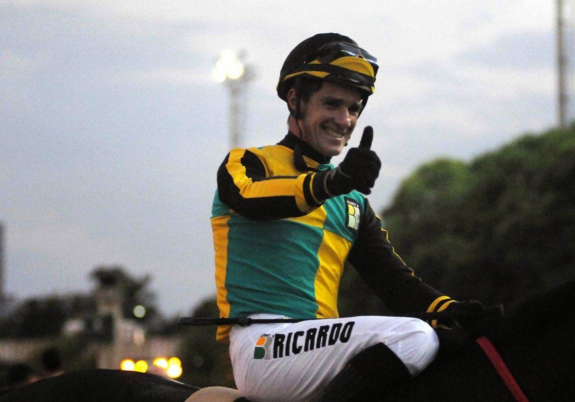El jockey Jorge Ricardo llegó a las 13 mil carreras ganadas
