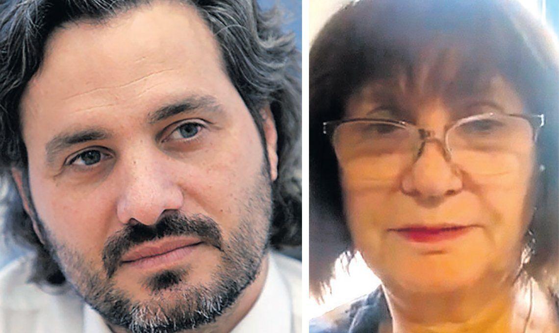 Santiago Cafiero criticó a Patricia Bullrich: Es deshonesta: la declaración está en pesos