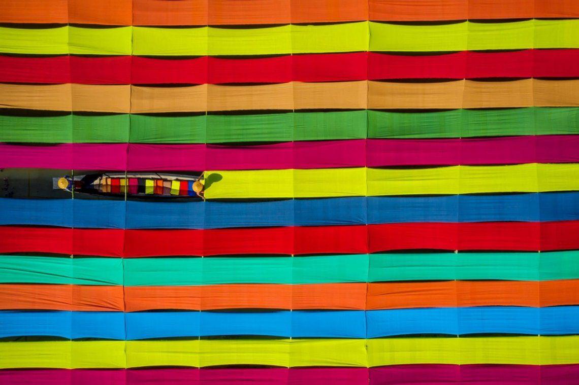 Colores de tejidos Inle
