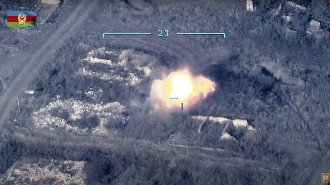 Turquía apoya a Azerbaiyán con cazas F-16, denunció el presidente de Armenia