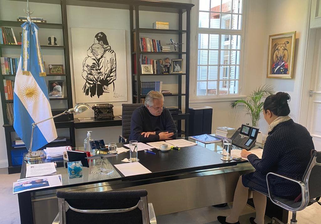 Xi Jinping invitó a Alberto Fernández a realizar una visita de Estado a China