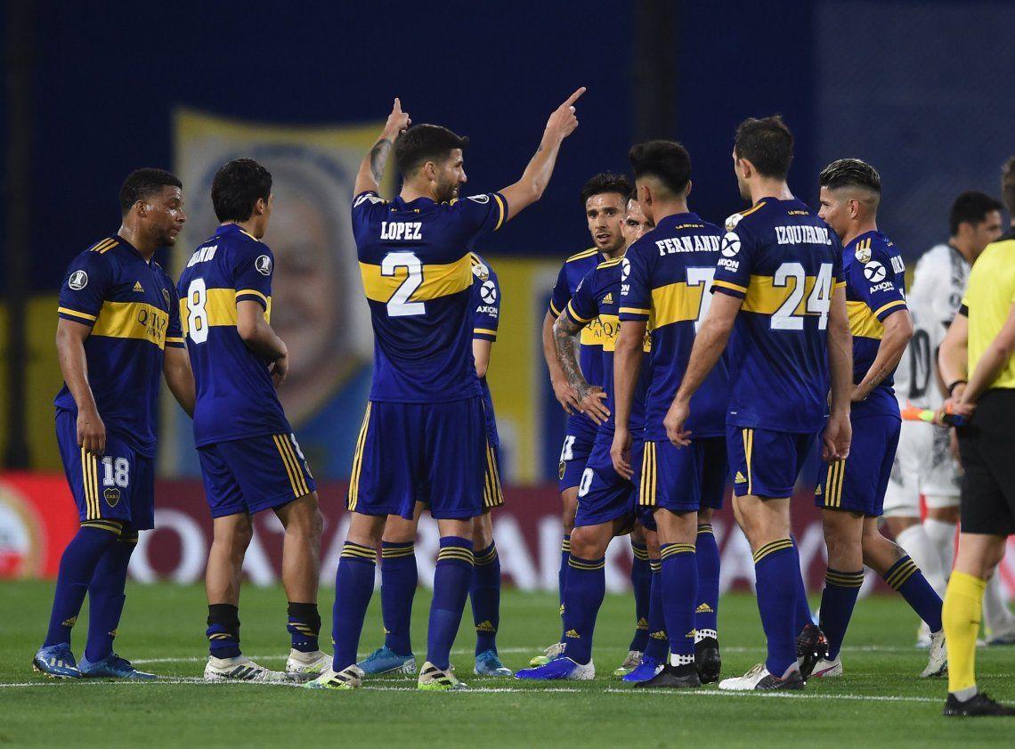 Boca se aseguró el primer lugar en su grupo: DIM derrotó a Caracas