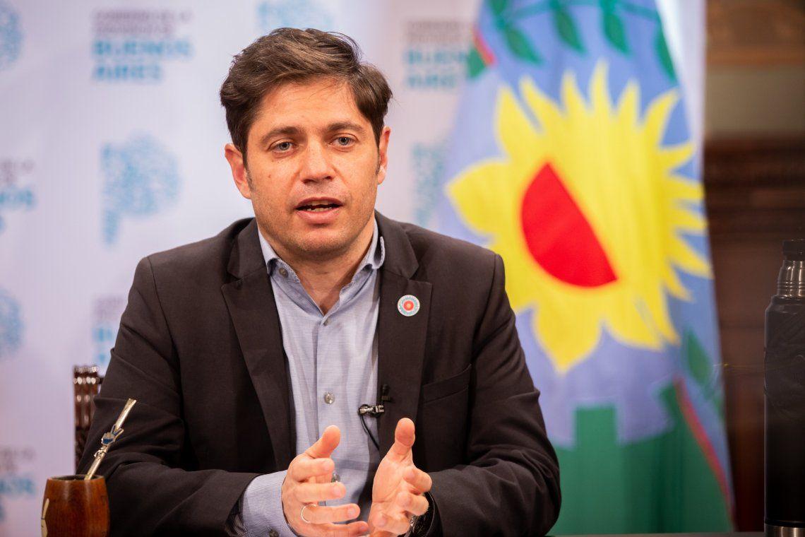 Axel Kicillof ratificó clases presenciales en 24 municipios