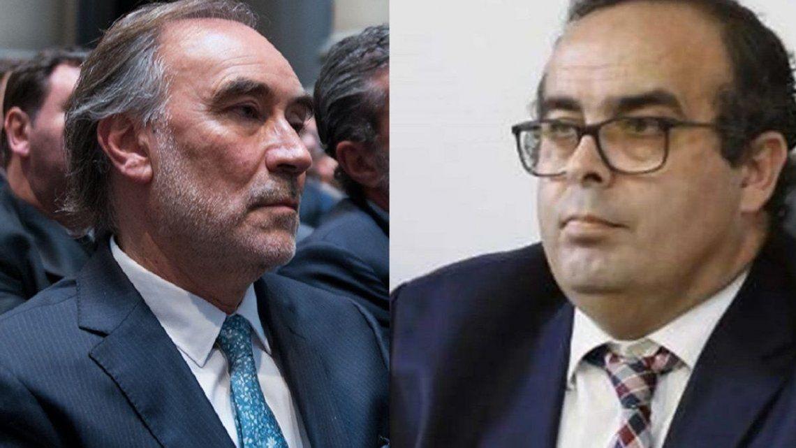 Los jueces Leopoldo Bruglia y Pablo Bertuzzi, de licencia por 30 días hasta que la Corte Suprema resuelva el