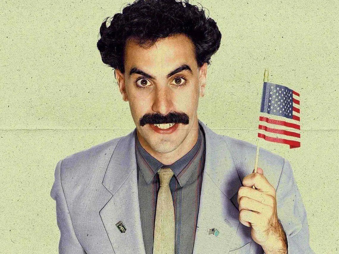 Borat 2 se estrena en Amazon antes de las elecciones en los Estados Unidos