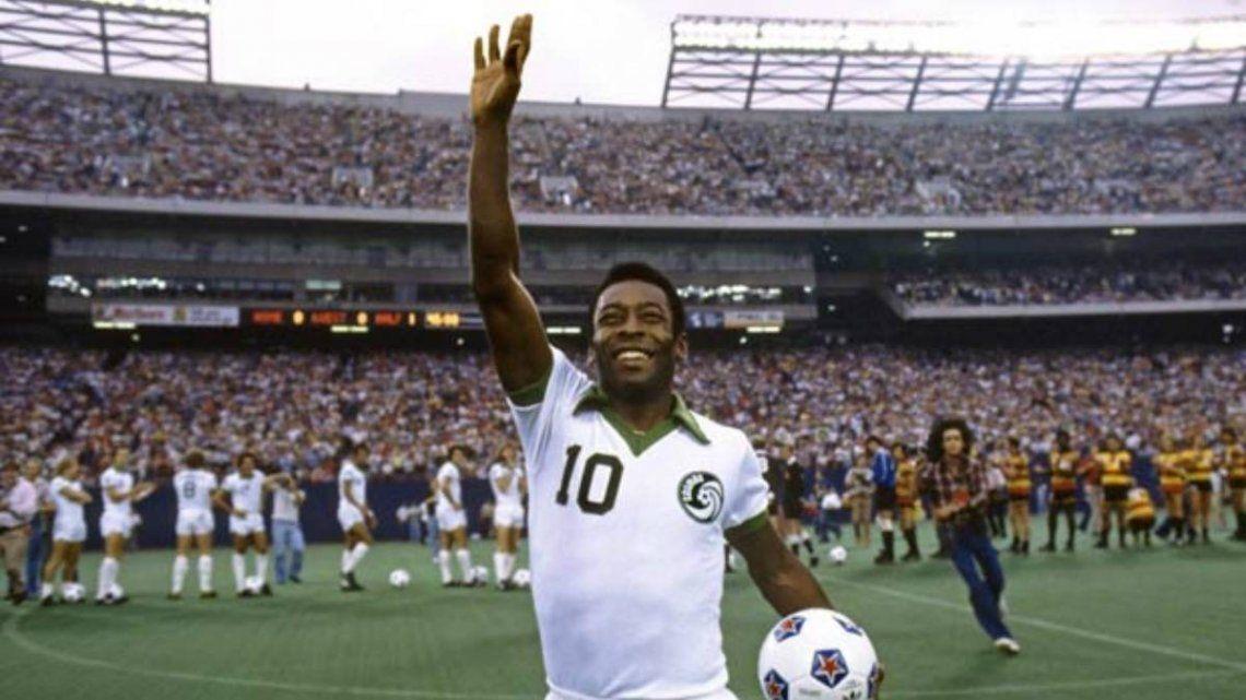A 43 años del retiro de Pelé