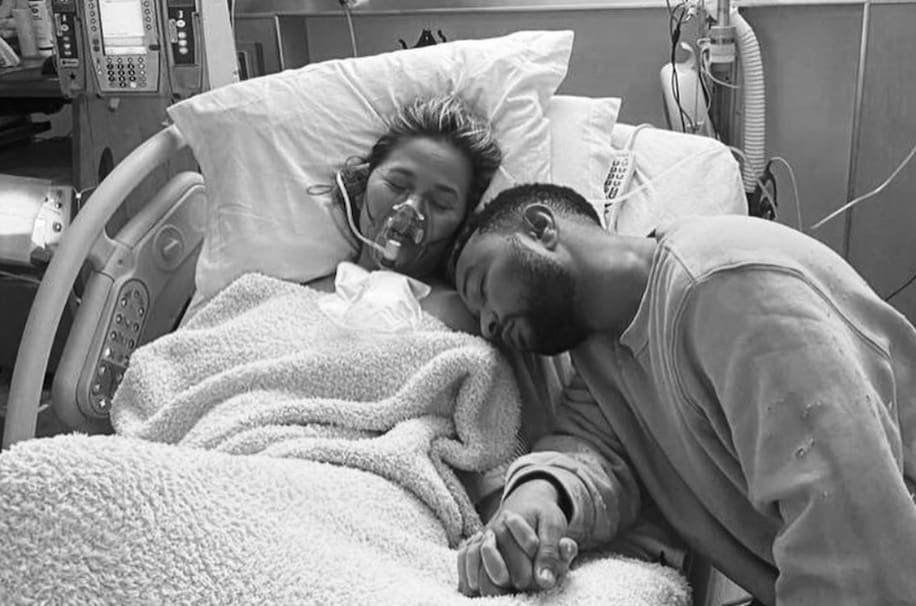 Desgarrador testimonio de Chrissy Teigen y John Legend tras perder su bebé
