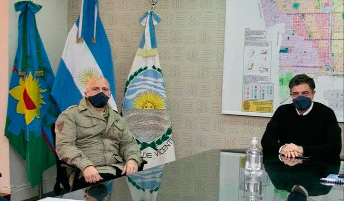 Vicente López logró importantes acuerdos con municipales