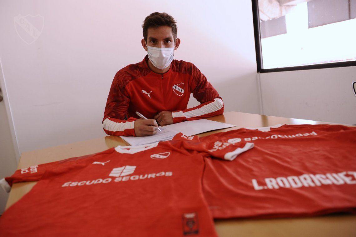 Independiente arregló con dos Lucas su nuevo refuerzo
