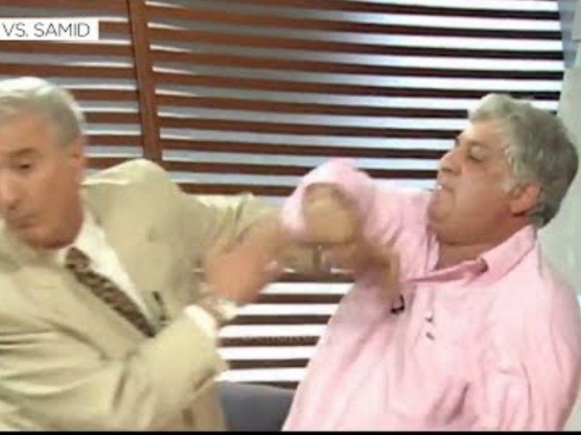 Samid insiste en revivir la bochornosa pelea con Mauro Viale