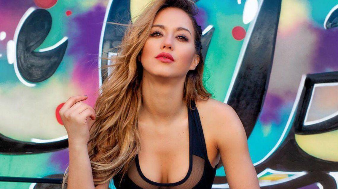 Flor Vigna y toda su sensualidad al ritmo del reggaetón