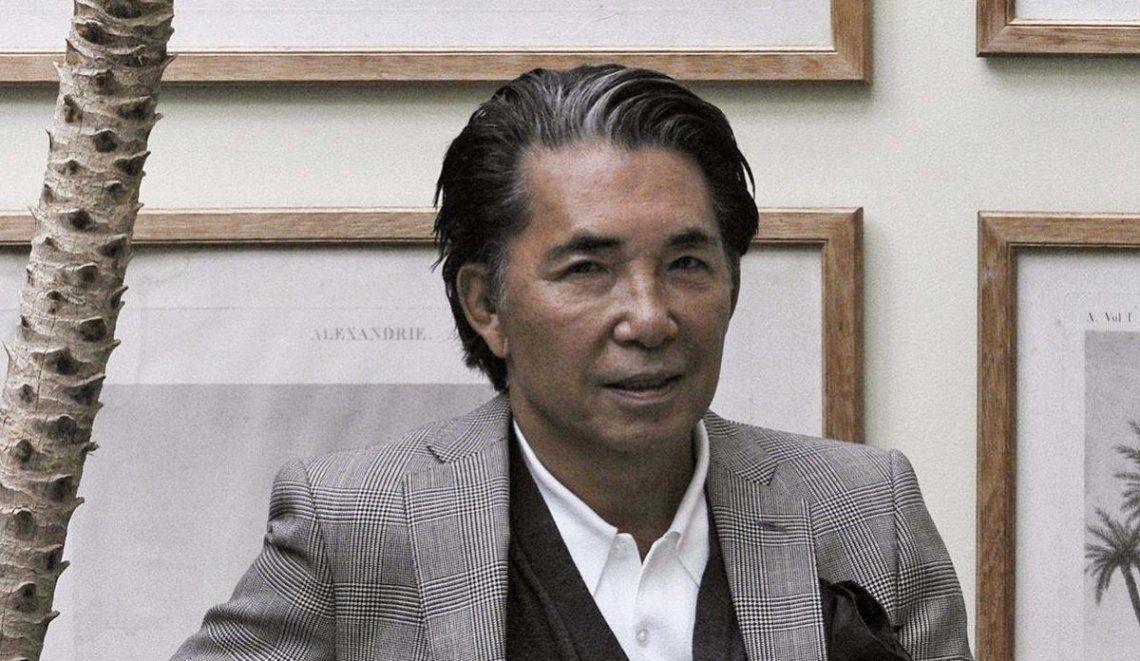 Coronavirus: a los 81 años falleció el diseñador de moda japonés Kenzo Takada