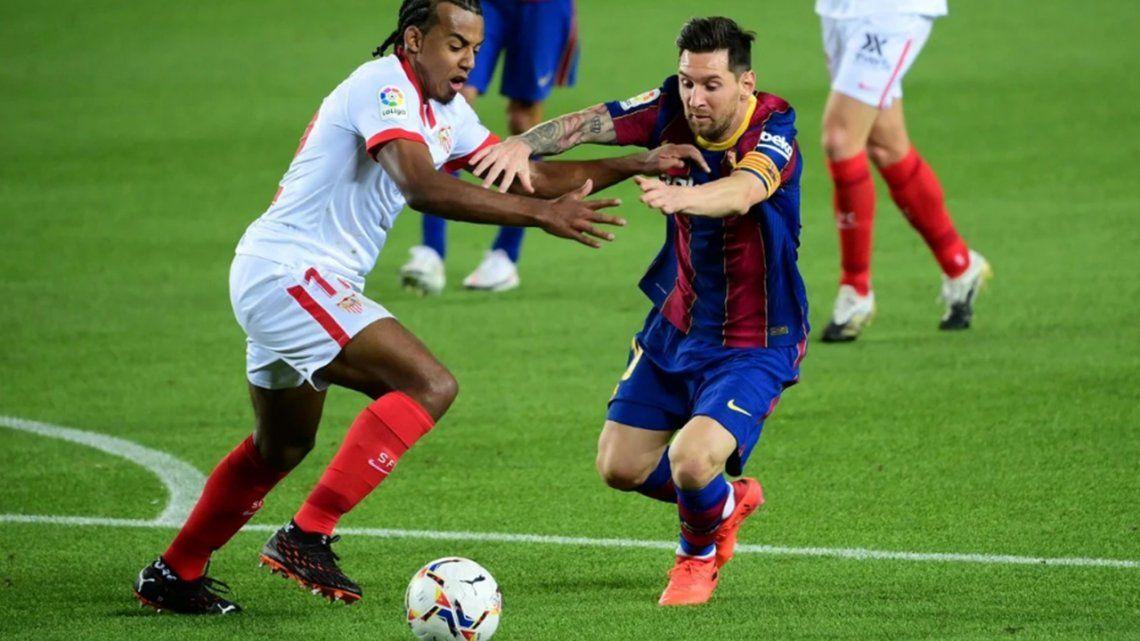 Barcelona igualó ante Sevilla y no pudo sumar su tercer triunfo consecutivo