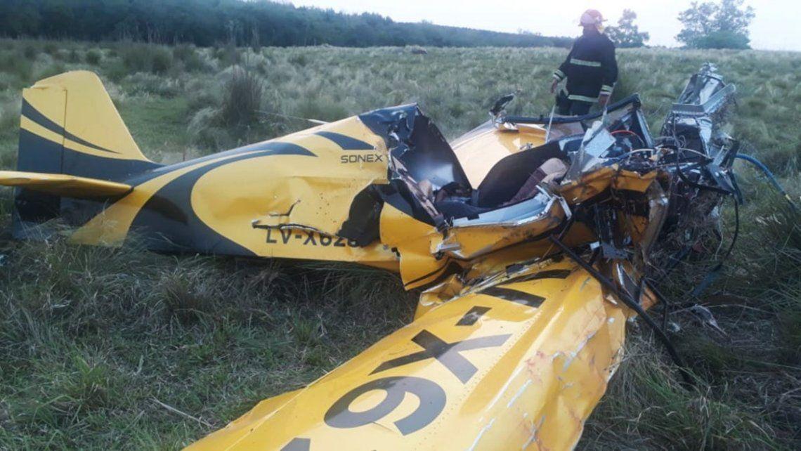Tragedia en Misiones: un hombre murió y su hijo se encuentra gravemente herido al estrellarse una avioneta