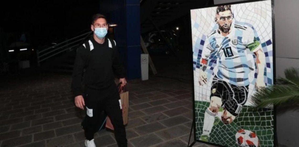Selección Argentina: llegó Lionel Messi y Scaloni tiene a todos los convocados