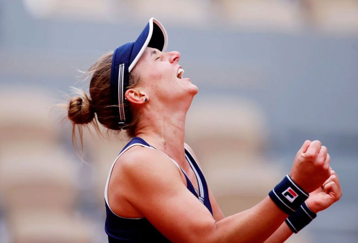 Histórico: Nadia Podoroska es semifinalista en Roland Garros