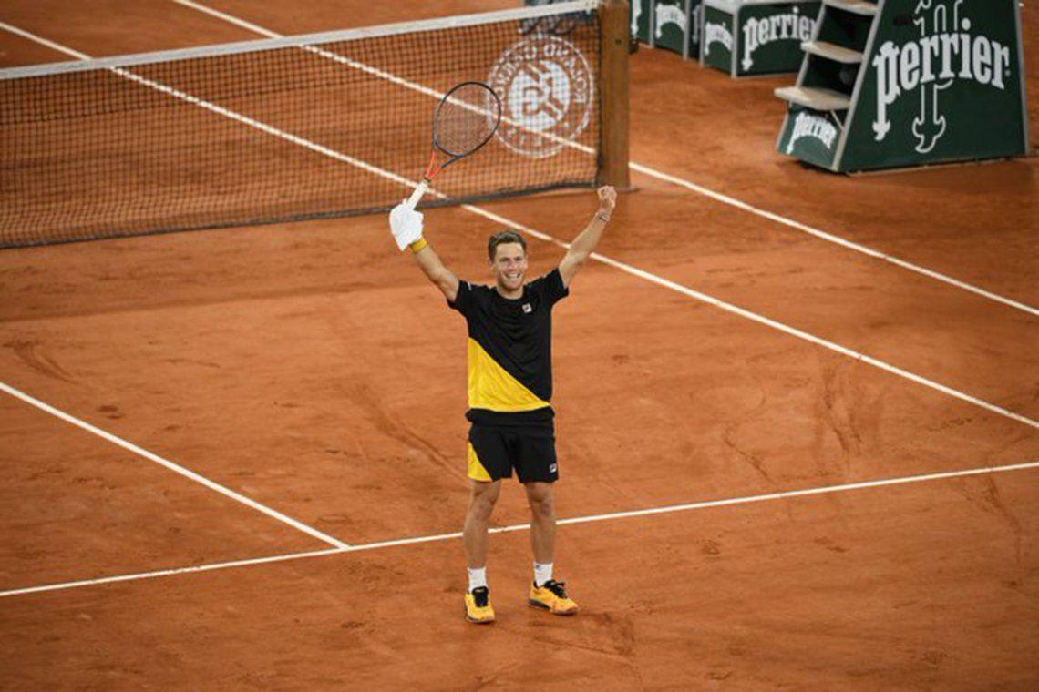 Roland Garros: Diego Schwartzman venció a Dominic Thiem y jugará una semifinal de Grand Slam por primera vez