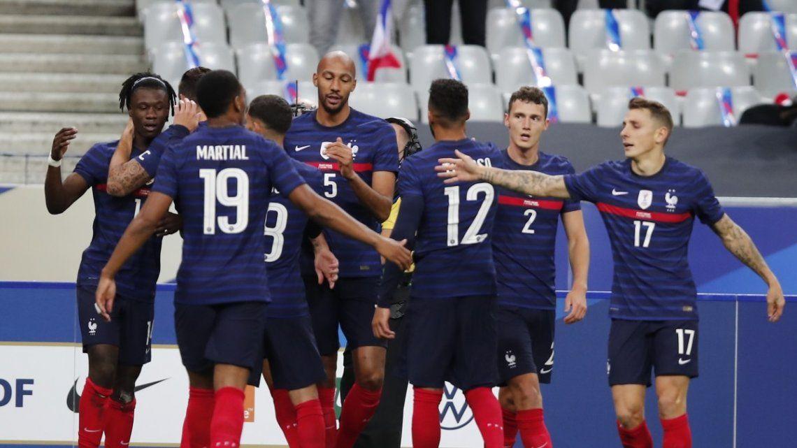Goleadas de Francia e Italia en amistosos con vistas a las eliminatorias