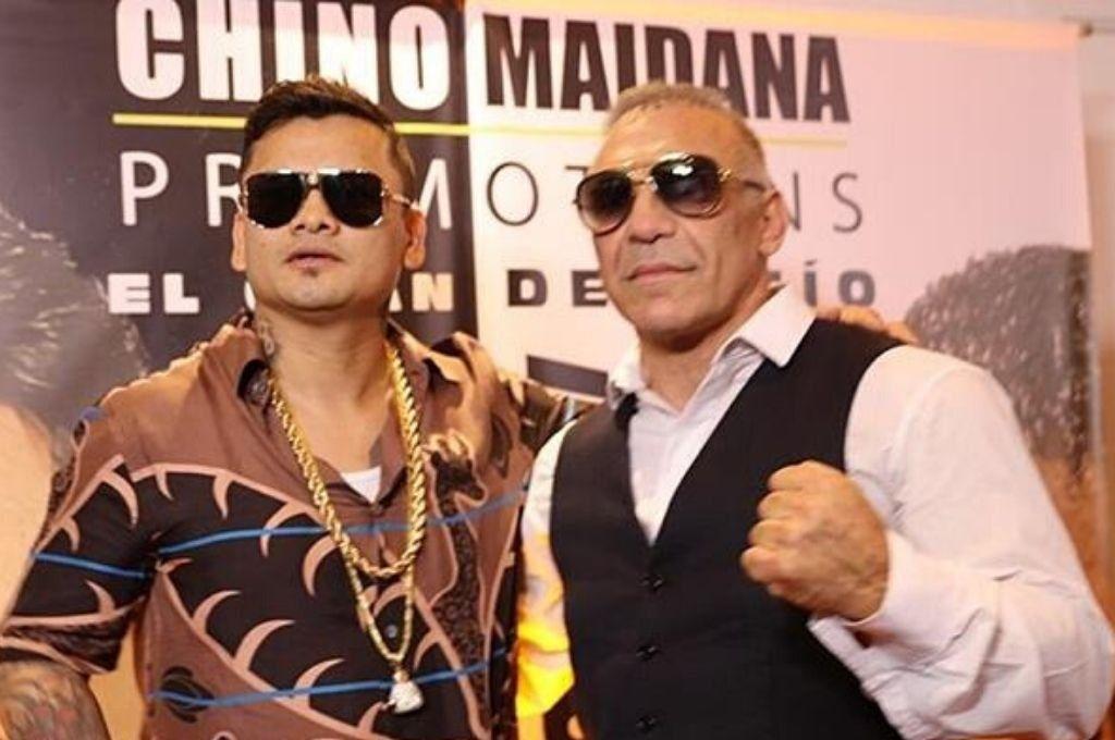 Dos campeones: el chino Maidana y Jorge Acero Cali