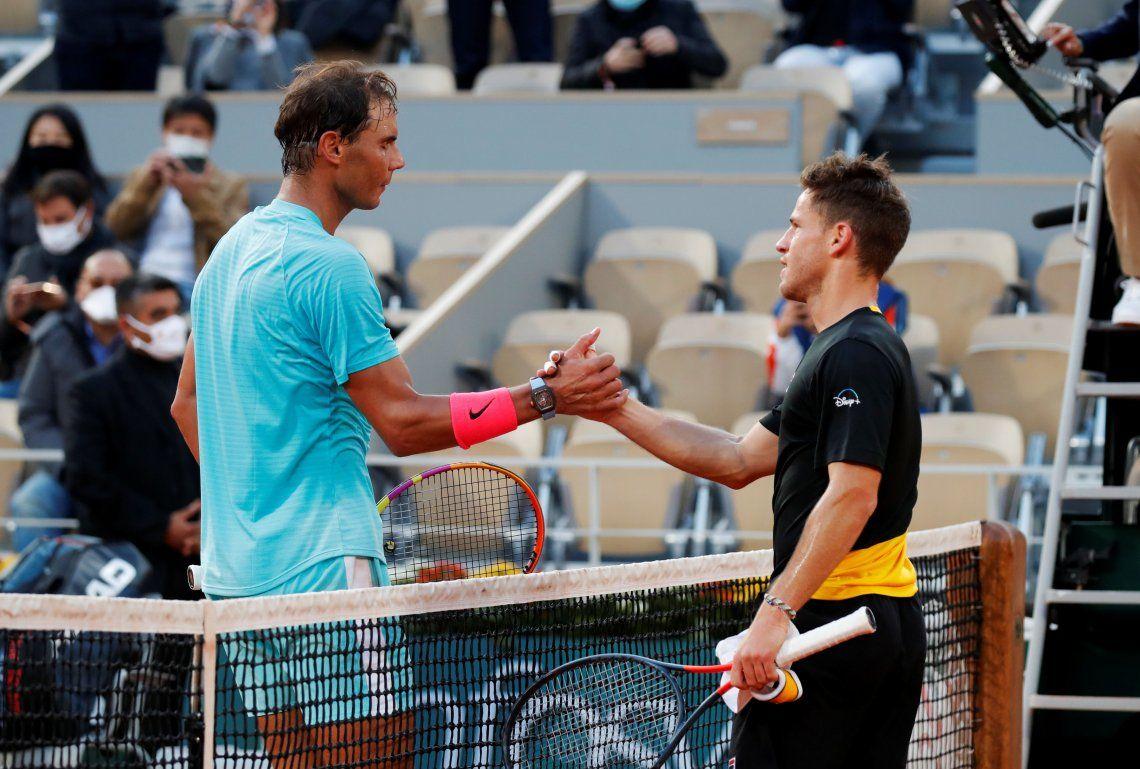 Schwartzman perdió ante Nadal y se despidió de un Roland Garros inolvidable