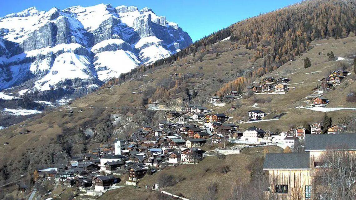 Un pequeño pueblo suizo ofrece 70 mil euros a quienes quieran mudarse