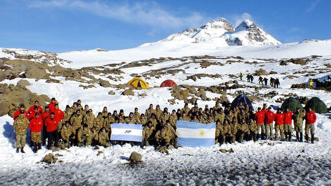 San Carlos de Bariloche - Escaladores de Montaña del Ejército Argentino