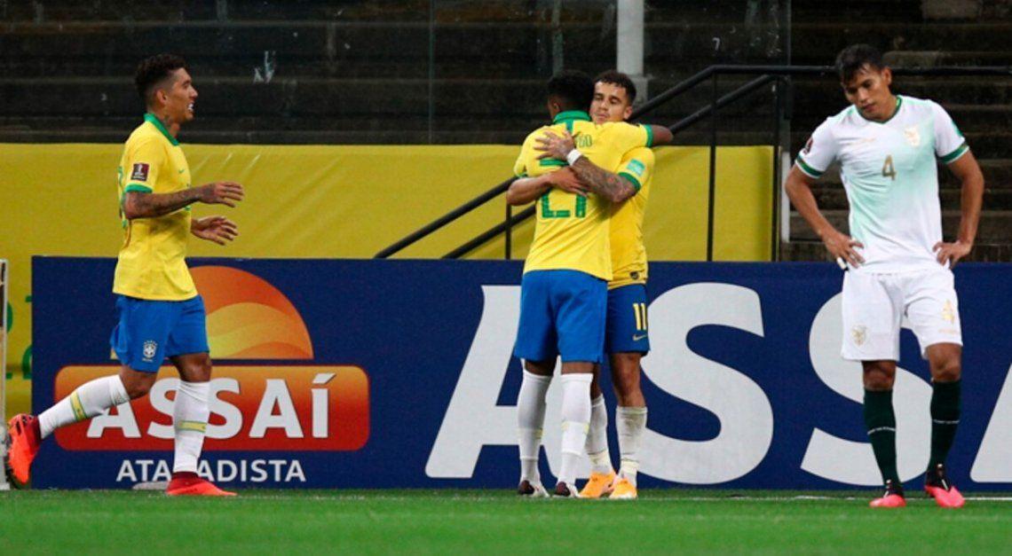 Eliminatorias Qatar 2022: en su debut, Brasil y Colombia ganaron, golearon y gustaron