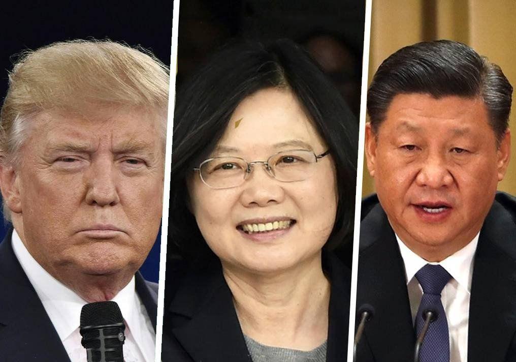 Donal Trump apoya a la presidenta de Taiwán
