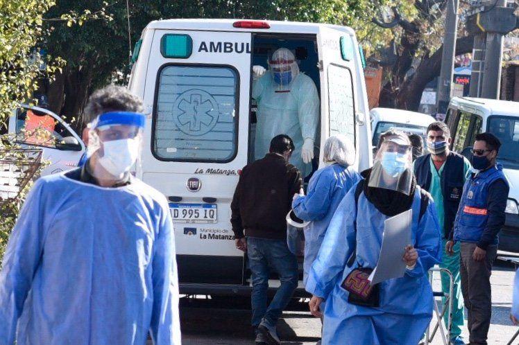 Coronavirus: hay 4.278 personas en terapia intensiva, el 39,3% en el AMBA