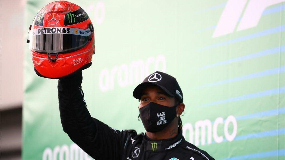 Hamilton ganó en Nürburgring e igualó a Schumacher en cantidad de victorias