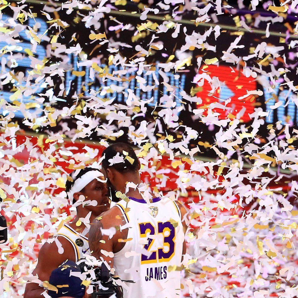 NBA: las mejores fotos de la consagración de los Ángeles Lakers
