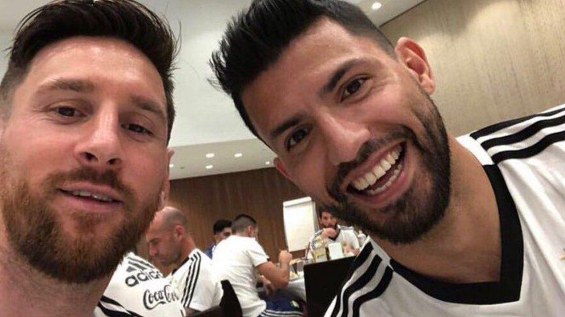 Kun Agüero: Messi es muy quejón