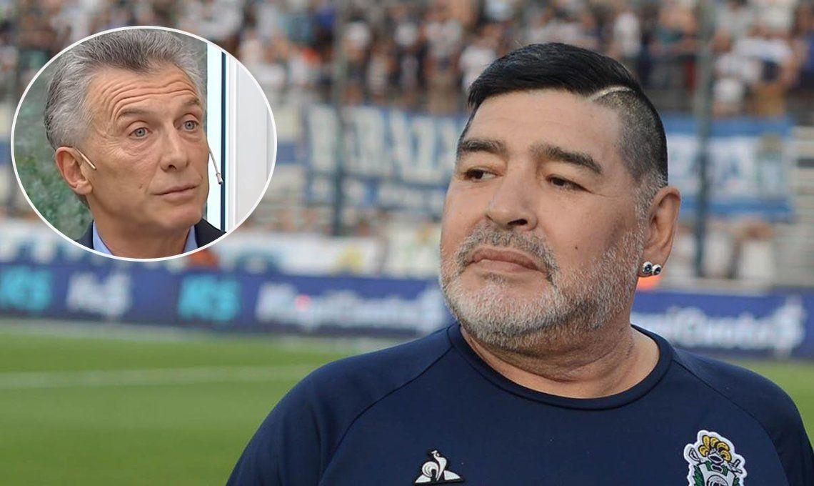 Diego Maradona a Mauricio Macri: Tus decisiones le cagaron la vida a dos generaciones de argentinos