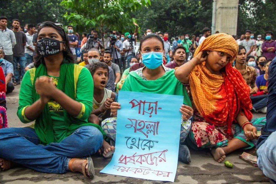 Bangladesh aprobó la pena de muerte para los violadores