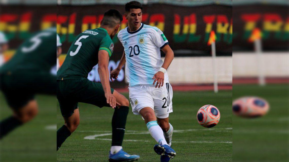 Exequiel Palacios, otra buena noticia en la Selección de Lionel Scaloni
