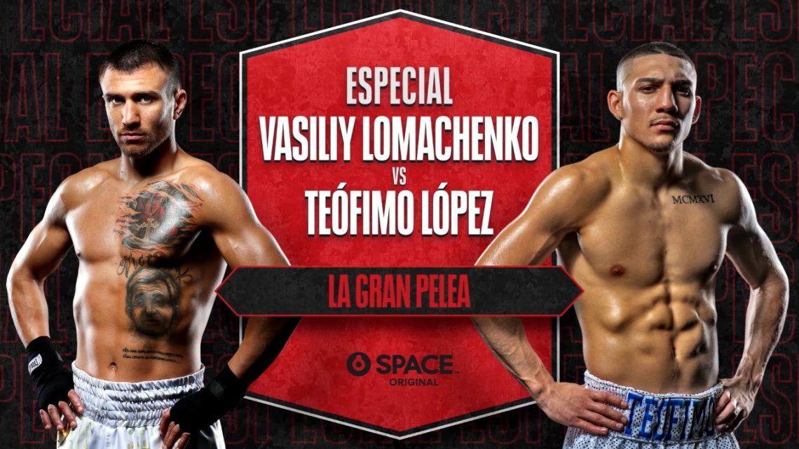 Vasyl Lomachenko y Teófimo López disputarán este sábado la que sin dudas será la Pelea del Año