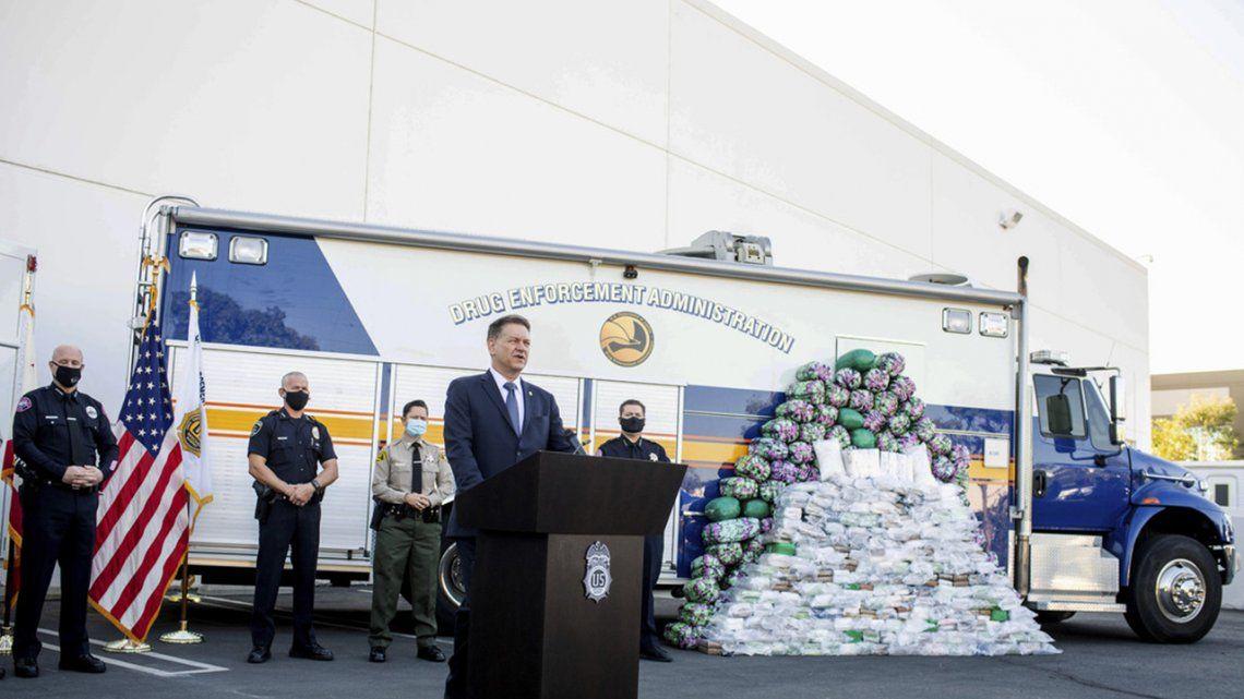 La DEA incauta al Cártel de Sinaloa más de dos toneladas de metanfetamina