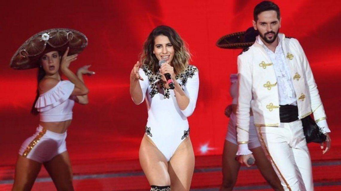 Cantando 2020: Cinthia Fernández le dedicó una fuerte canción a su ex