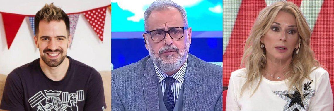 Jorge Rial contra Yanina Latorre por su cercanía con Martin Cirio