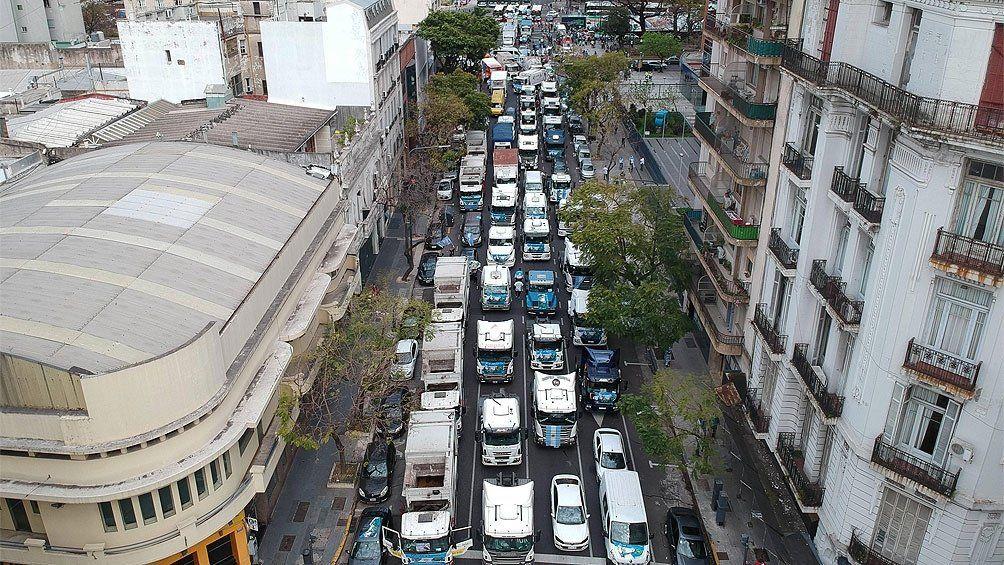 Miles de vehículos ganaron las calles para celebrar el Día de la Lealtad