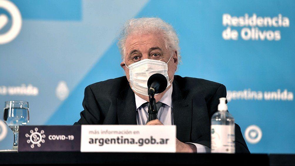 Ginés González García: Estamos negociando con varios laboratorios para garantizar la cantidad suficiente de vacunas lo antes posible