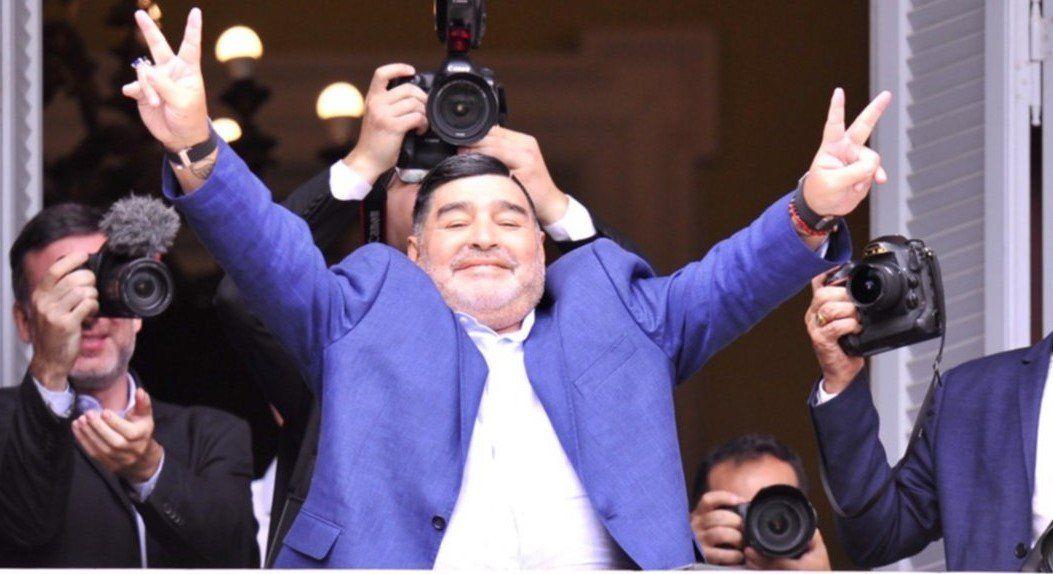 Diego Maradona apoyó al Gobierno en el Día de la Lealtad: Fui, soy y seré siempre peronista