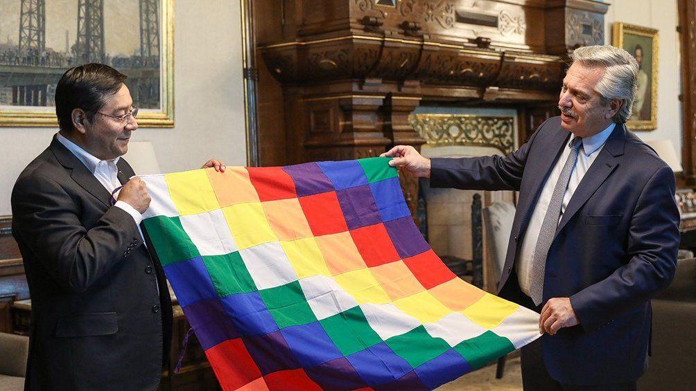 El presidente Alberto Fernández celebró el triunfo de Luis Arce en las elecciones presidenciales de Bolivia