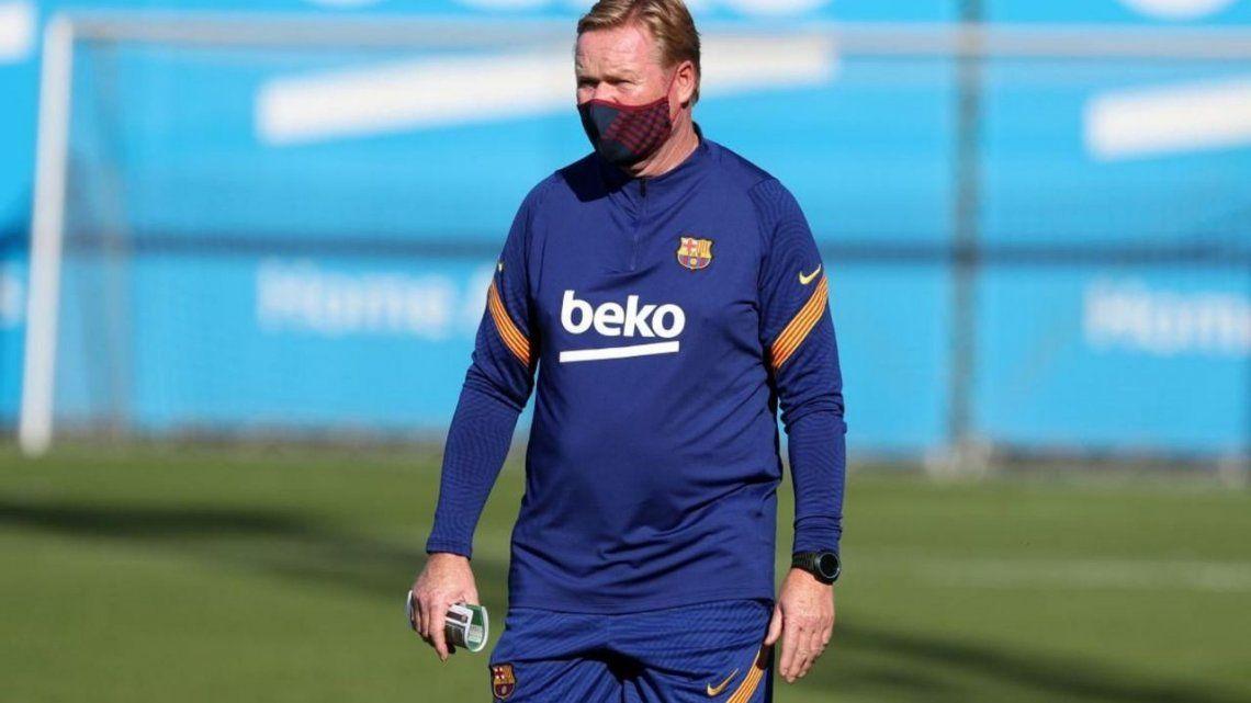 Koeman: Messi puede mejorar su rendimiento