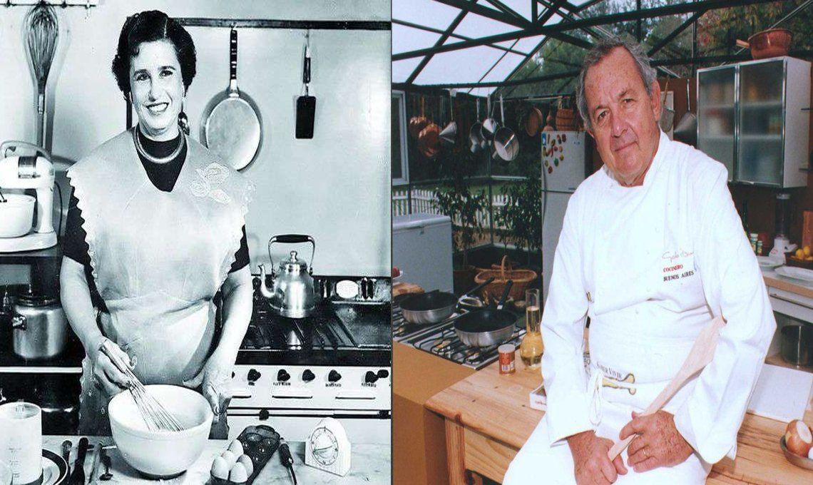 En el Día Internacional del Chef, recordamos  a Doña Petrona y al Gato Dumas