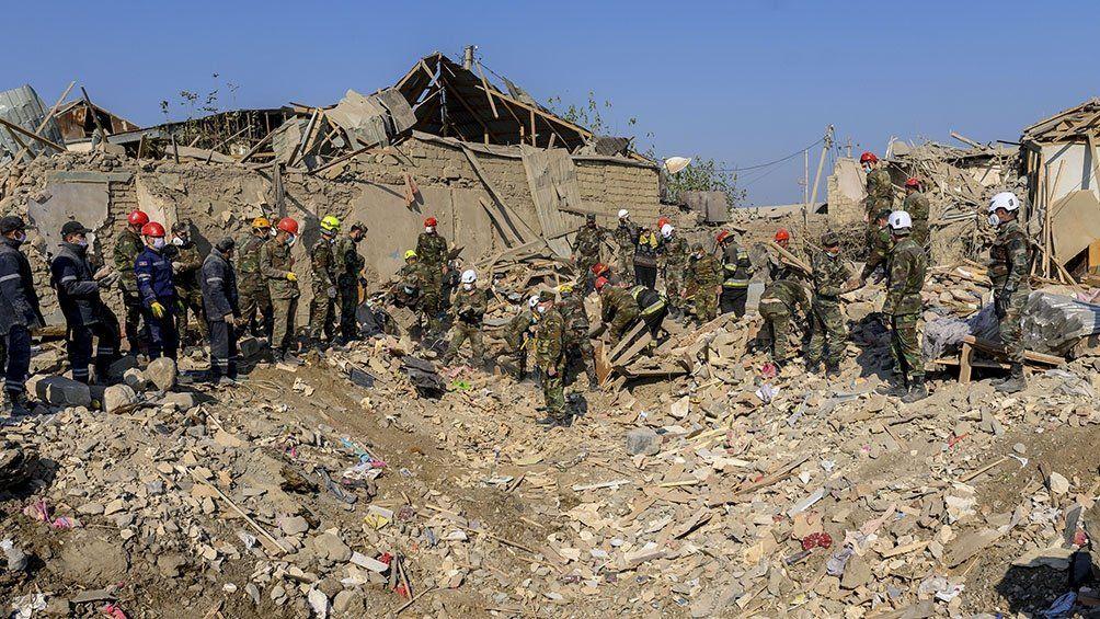 Nagorno Karabaj: Azerbaiyán toma el control de varias aldeas