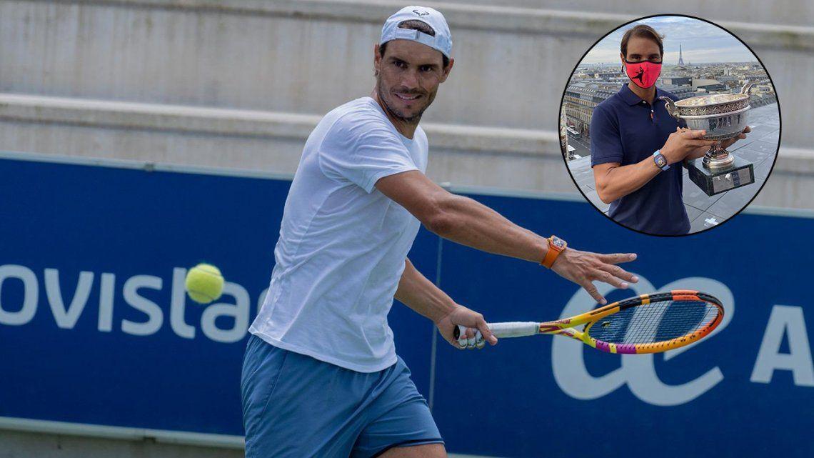 Rafael Nadal jugará en París Bercy y el Masters de Londres